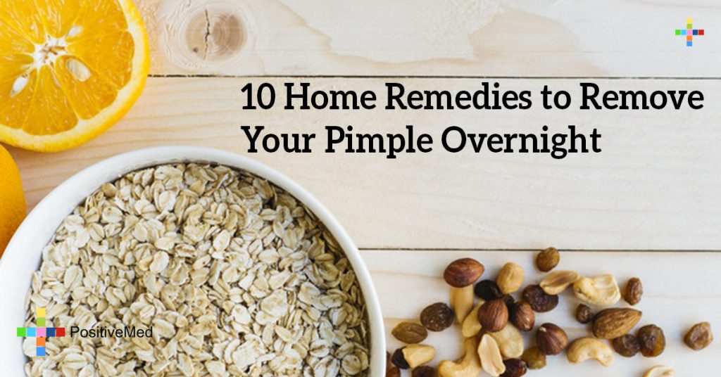 10 Home Remedies to Remove Your Pimple Overnight