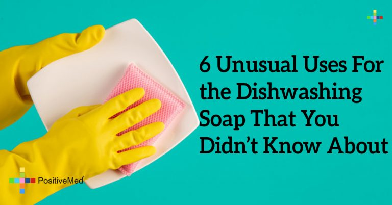 6 Unusual Uses For the Dishwashing Soap That You Didn't Know About