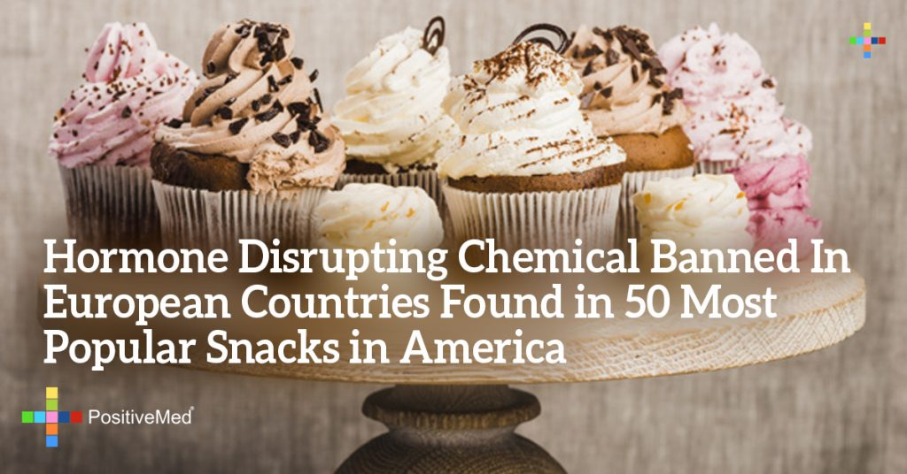 Hormone Disrupting Chemical Banned In European Countries Found in 50 Most Popular Snacks in America