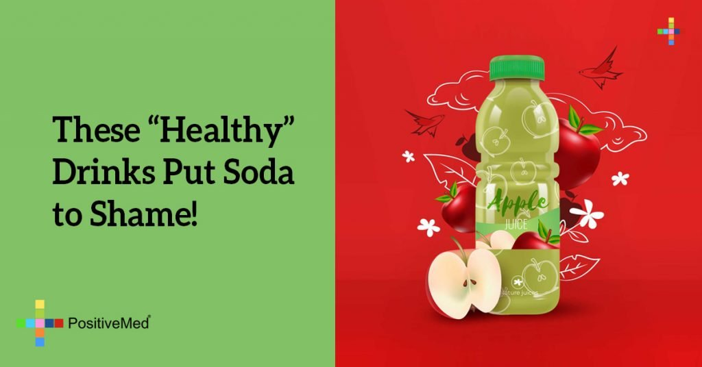 """These """"Healthy"""" Drinks Put Soda to Shame!"""