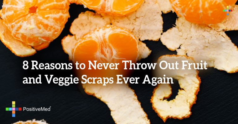 8 Reasons to Never Throw Out Fruit and Veggie Scraps Ever Again