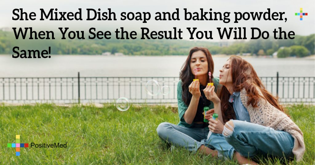She Mixed Dish soap and baking powder, When You See the Result You Will Do the Same!