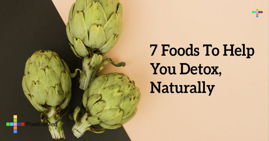 7 Foods To Help You Detox, Naturally