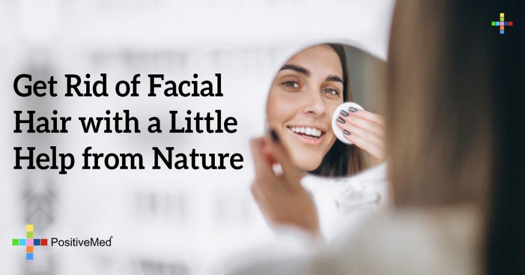 Get Rid of Facial Hair with a Little Help from Nature