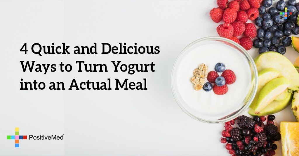 4 Quick and Delicious Ways to Turn Yogurt into an Actual Meal