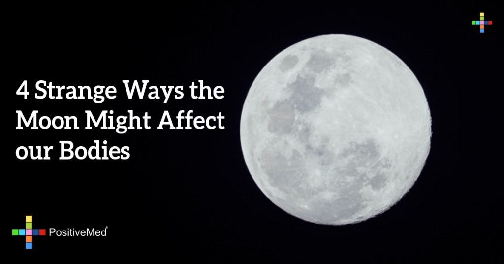 4 Strange Ways the Moon Might Affect our Bodies