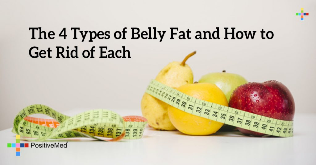The 4 Types of Belly Fat and How to Get Rid of Each