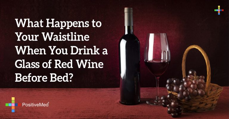 What Happens to Your Waistline When You Drink a Glass of Red Wine Before Bed?