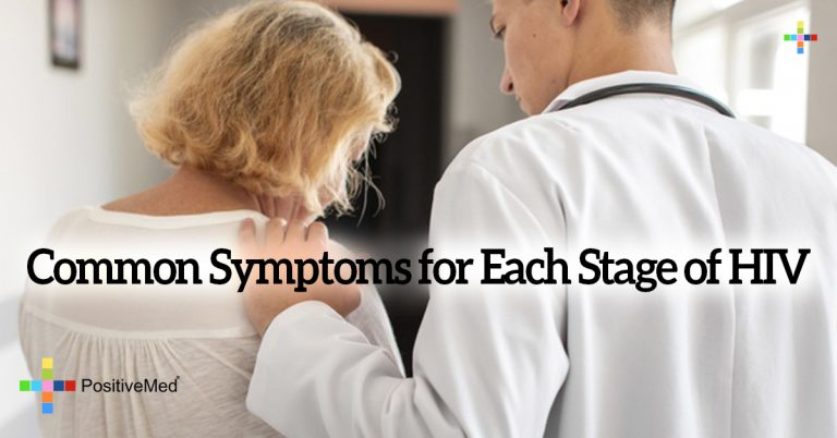 Common Symptoms for Each Stage of HIV