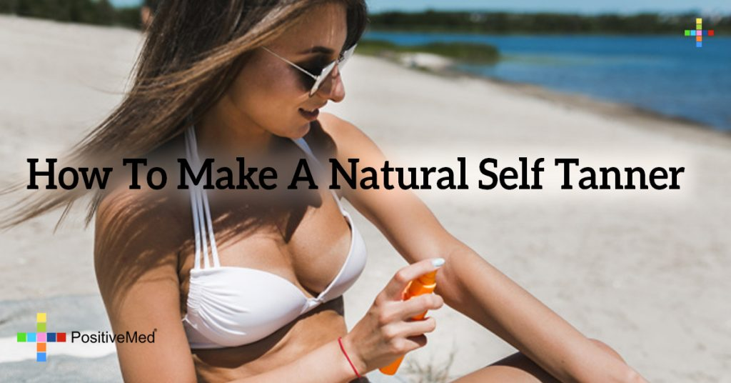 How To Make A Natural Self Tanner