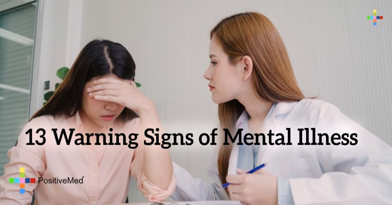 13 Warning Signs of Mental Illness