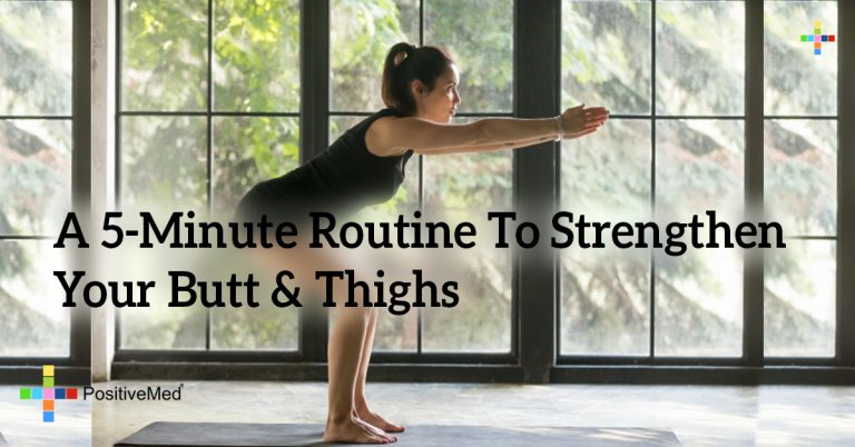 A 5-Minute Routine To Strengthen Your Butt & Thighs