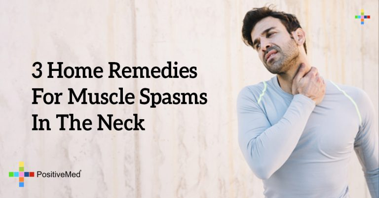 3 Home Remedies For Muscle Spasms In The Neck