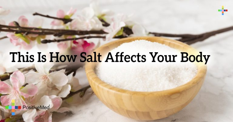 This Is How Salt Affects Your Body