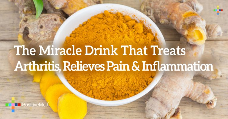 The Miracle Drink That Treats Arthritis, Relieves Pain & Inflammation