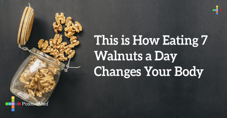 This is How Eating 7 Walnuts a Day Changes Your Body