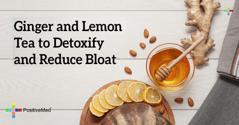 Ginger and Lemon Tea to Detoxify and Reduce Bloat