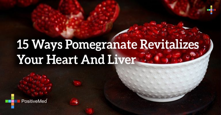 15 Ways Pomegranate Revitalizes Your Heart And Liver