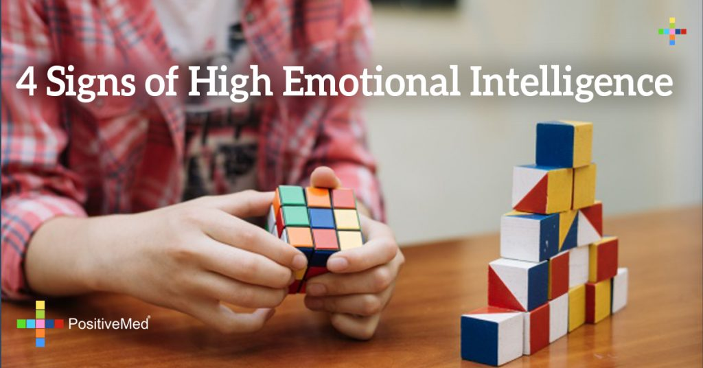 4 Signs of High Emotional Intelligence