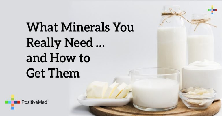 What Minerals You Really Need … and How to Get Them