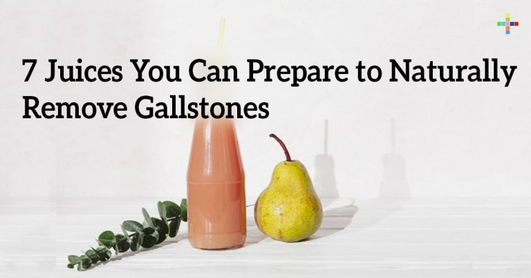 7 Juices You Can Prepare to Naturally Remove Gallstones