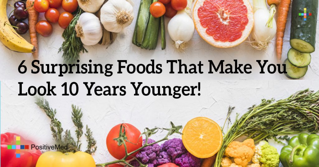 6 Surprising Foods That Make You Look 10 Years Younger!