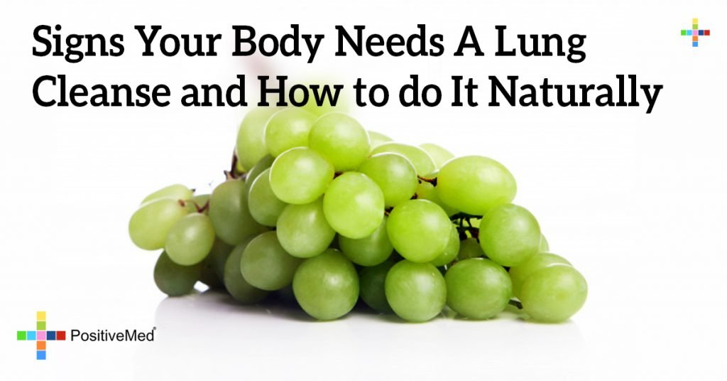 Signs Your Body Needs A Lung Cleanse and How to do It Naturally