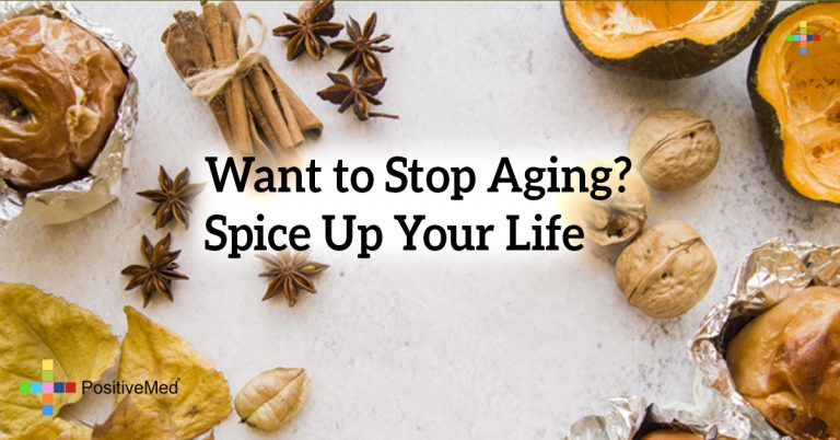 Want to Stop Aging? Spice Up Your Life