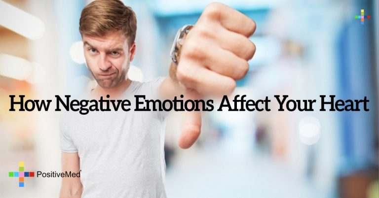 How Negative Emotions Affect Your Heart