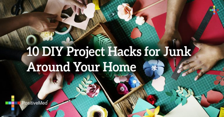 10 DIY Project Hacks for Junk Around Your Home