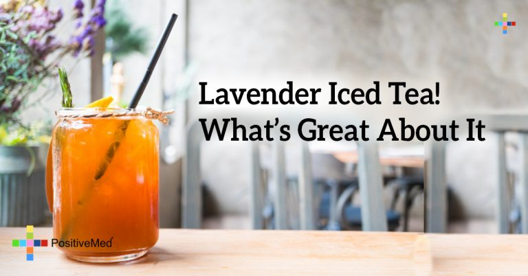 Lavender Iced Tea! What's Great About It