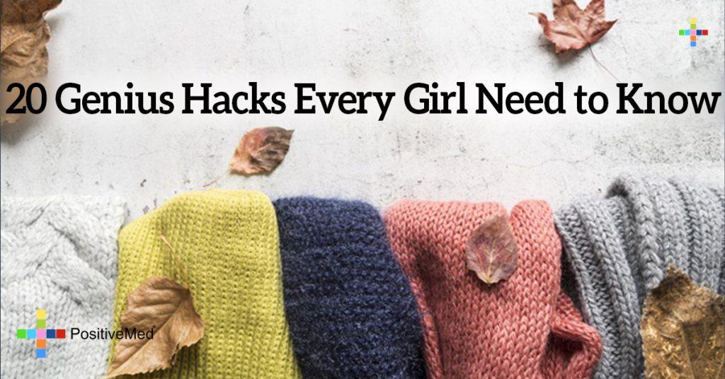 20 Genius Hacks Every Girl Need to Know