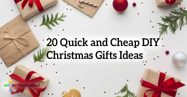 20 Quick and Cheap DIY Christmas Gifts Ideas