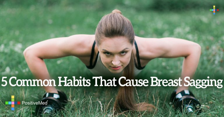 5 Common Habits That Cause Breast Sagging