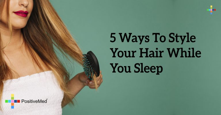 5 Ways To Style Your Hair While You Sleep