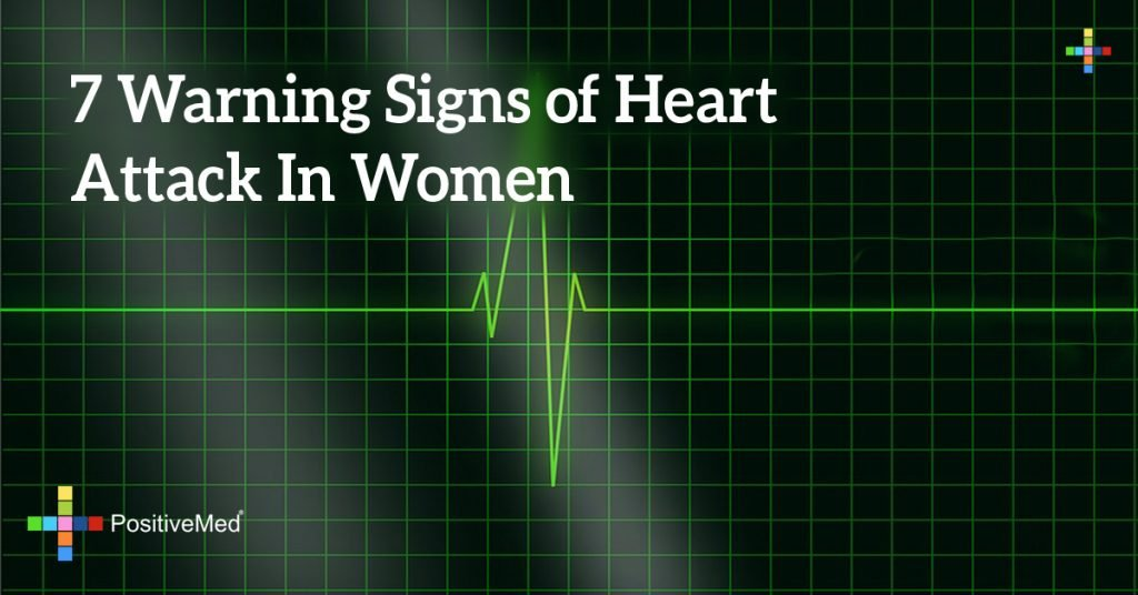 7 Warning Signs of Heart Attack In Women