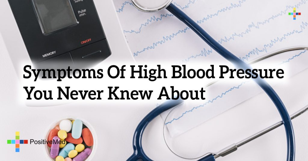 Symptoms Of High Blood Pressure You Never Knew About