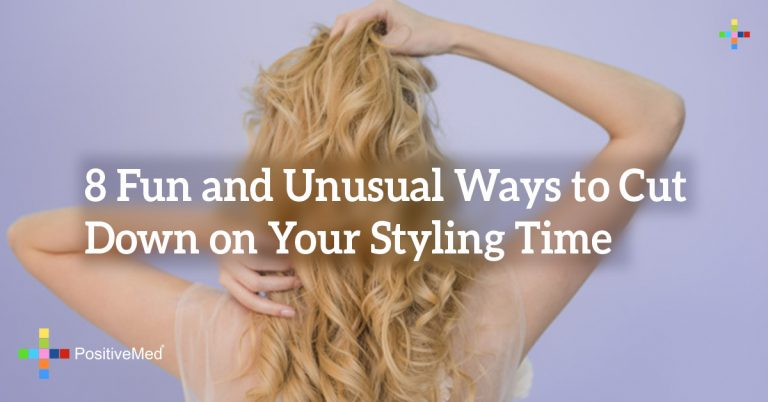 8 Fun and Unusual Ways to Cut Down on Your Styling Time