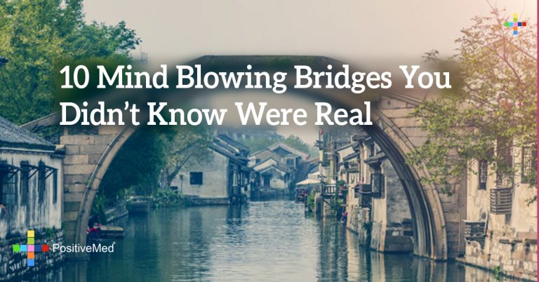 10 Mind Blowing Bridges You Didn't Know Were Real