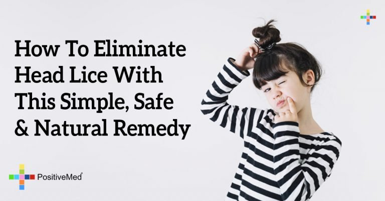 How To Eliminate Head Lice With This Simple, Safe & Natural Remedy