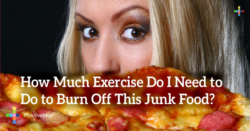 How Much Exercise Do I Need to Do to Burn Off This Junk Food?