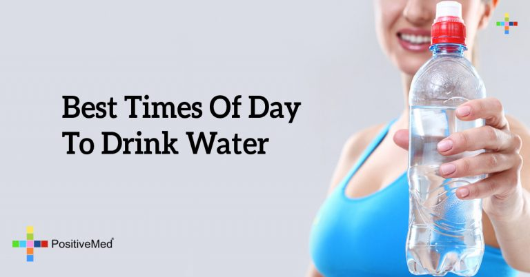 Best Times Of Day To Drink Water