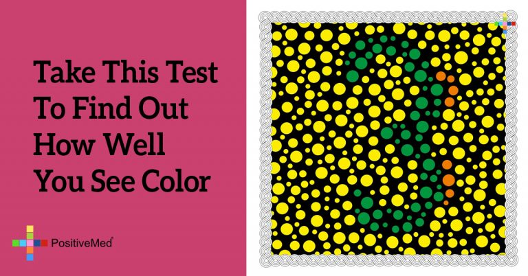 Take This Test To Find Out How Well You See Color