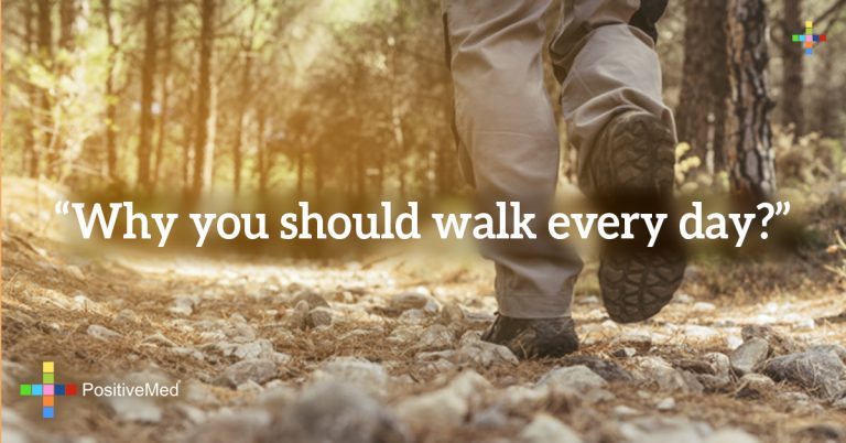 """Why you should walk every day?"""