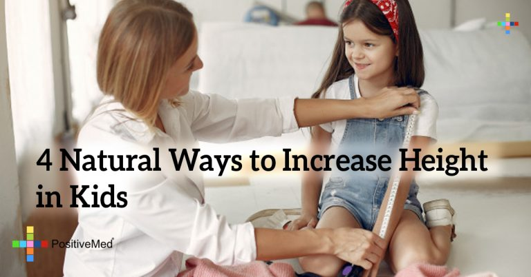 4 Natural Ways to Increase Height in Kids