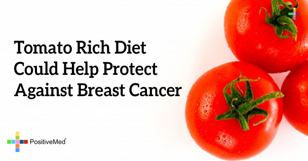 Tomato Rich Diet Could Help Protect Against Breast Cancer