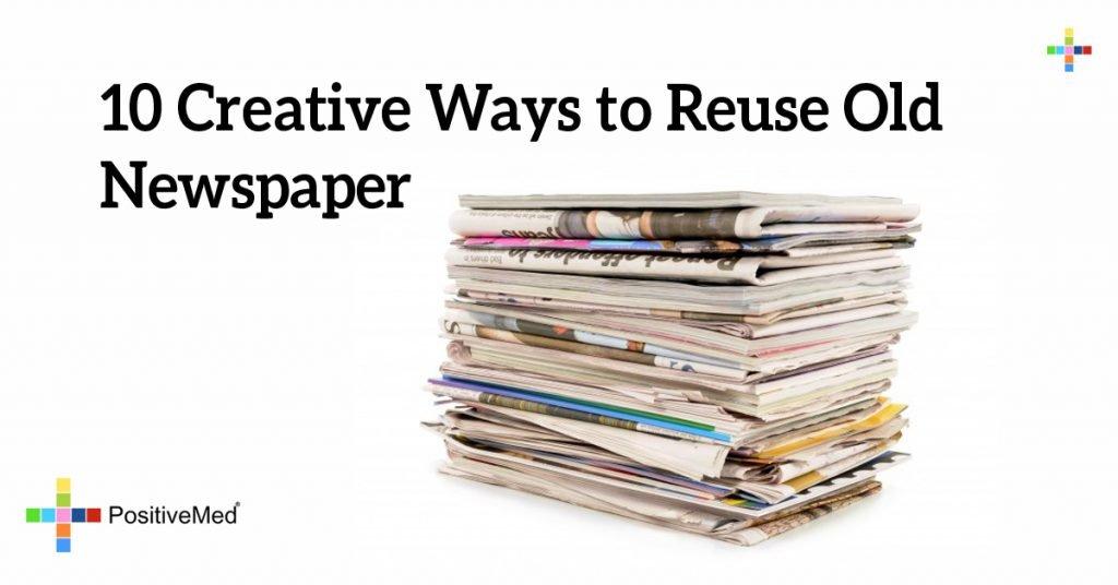 10 Creative Ways to Reuse Old Newspaper