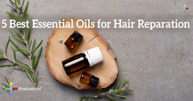 5 Best Essential Oils for Hair Reparation