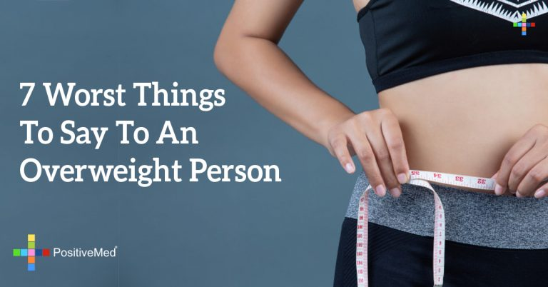 7 Worst Things To Say To An Overweight Person