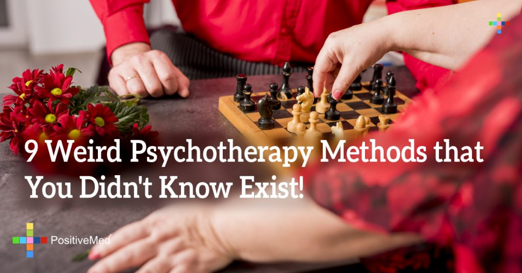 9 Weird Psychotherapy Methods that You Didn't Know Exist!